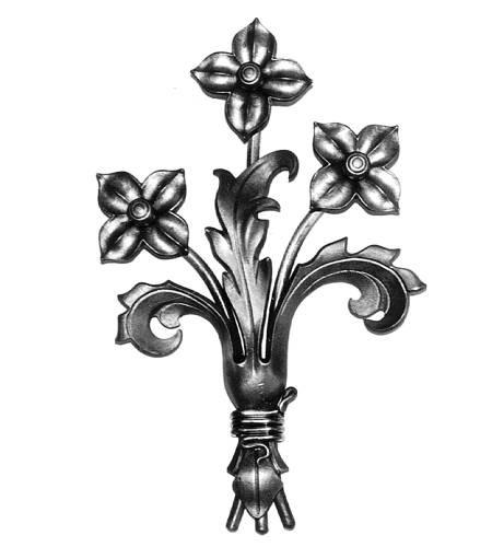 Ornament für Tore BS 3, Blumenstrauß