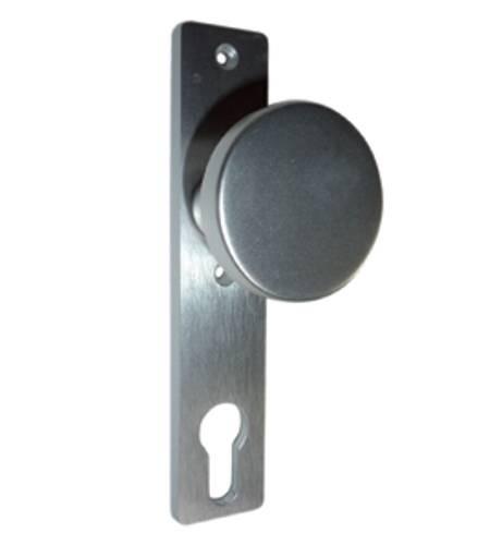 Knopfkurzschild 206060 Aluminium F1