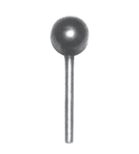 Schaft-Zierkugeln 201562, glatt, D - 19 mm