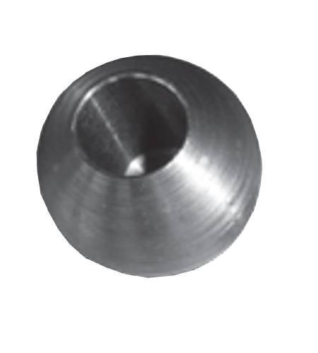 Stahlkugel mit Sackloch 201590