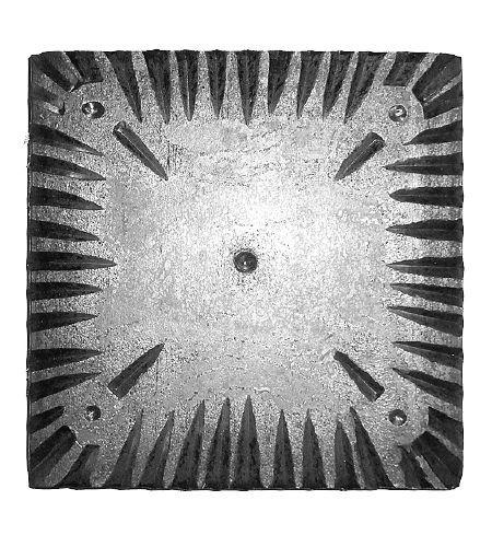 Grundplatte 201527 Quadrat 120