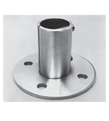 Bodenanker V2A 2040, Rohr D - 33,7 x 2 mm