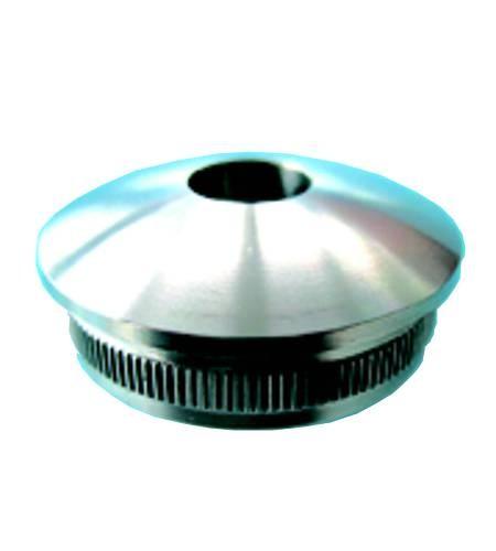 Endkappe V2A 1150-1 mit Bohrung - 12 mm